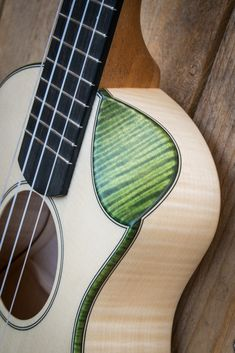 Moderno ukulele with bevel cutaway by Antica Ukuleleria. Made in Italy Guitar Inlay, Guitar Art, Acoustic Guitar, Cool Ukulele, Cool Guitar, Ukulele Instrument, Music Instruments, Ukulele Design, Resonator Guitar