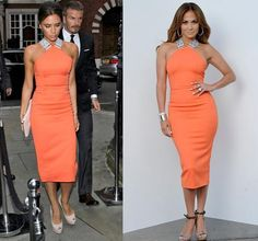 Victoria Beckham v Jennifer Lopez - Who wore it best?