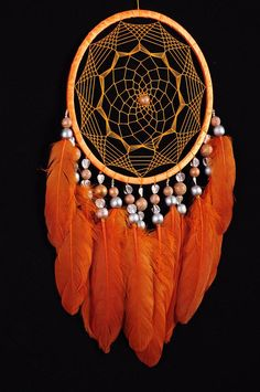 Dreamcatcher Orange Decor boho Dream Catcher Orange Dreamcatcher Dream сatcher dreamcatchers Carrot dreamcatchers wall decor handmade gift This amulet like Dreamcatcher - is not just a decoration of the interior. It is a powerful amulet, which is endowed Dream Catcher Decor, Dream Catcher Boho, Pink Flamingo Wallpaper, Diy Dream Catcher Tutorial, Handmade Home Decor, Handmade Gifts, Diy And Crafts, Arts And Crafts, Wooden Wreaths