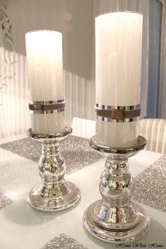 I <3 Lene Bjerre candles - Home White Home