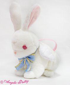 Holy Bunny Bag - White