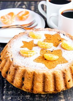 Homemade fruit christmas cake by camomile1