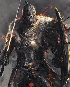 For Honor Characters, Fantasy Characters, Saga, Dark Souls Art, Metal Magazine, Sword And Sorcery, Fox Art, Fantastic Art, Awesome