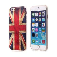 Coques / Protections iPhone 6 (4.7 pouces) - Coque de protection en TPU drapeau Anglais (Union Jack) iPhone 6 Ecran 4.7 pouces - nemtytab.com