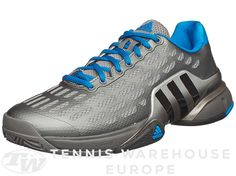 online store 1d26c 4d610 Adidas Barricade 2016 Grey Royal Men s Shoe Adidas Barricade, Tennis  Warehouse, Mens Trends