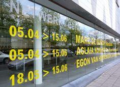 WATERSCHOENEN: Marc De Blieck en Aglaia Konrad in Netwerk Kunstencentrum (Aalst)