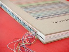 Portfolio book with selected works
