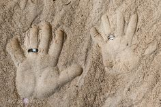 This is another fun ring shot idea for a beach wedding. I took this photograph on Culebra Island in Puerto Rico during Lyndsay and Marshalls wedding. #wedding #PuertoRico #photographer #photography #rings #sand #beach #rinconimages www.rinconimages.com Wedding photographer Culebra Island Puerto Rico