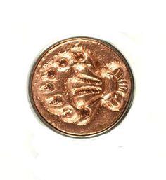 Noosa chunk TRI RATNA. Deze chunk is een symbool van de drie juwelen. Het zijn de drie dingen waarop Boeddhisten vertrouwen en waardoor zij worden geleid in hun leven - NummerZestien.eu