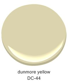 Dunmore Yellow DC-44, from the @darrylcarter  Collection by Benjamin Moore