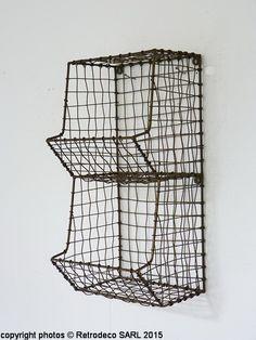 etagere murale fil de fer