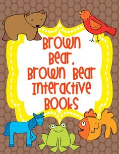 "**FREEBIE**  Brown Bear Interactive Student Books  2 interactive student books to add to your Brown Bear Unit.    ""I See Brown Bear""  Students read sentences and glue correct picture onto each page. There is an option for students to write in the word ""see"". There are also 2 versions of picture cards for differentiation    ""Brown Bear Stamping""  Students use letter stamps, or writing to fill in color words. Full color vocabulary cards included.     **FREEBIE**"