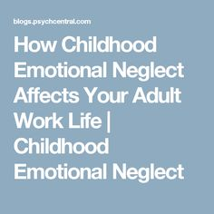 Signs of emotional neglect in relationship