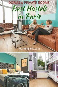 Paris Hostels, Accommodation in Paris, Where to Stay in Paris, Paris On a Budget, Best Hostels in Paris, Family Friendly Hostels in Paris, Paris Hostels for Couples, Best Party Hostels in Paris, Cool Hostels in Paris, Paris Travel Tips #besthostelsparis #paris #paristravelplanner