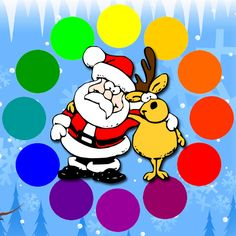 ★Christmas Coloring Pages with Santa Claus★  https://itunes.apple.com/app/christmas-coloring-pages-santa/id577138709?ls=1=8