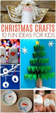 Christmas Ideas for Kids Christmas ideas for kids – easy and fun crafts and activities Christmas Crafts For Kids, Xmas Crafts, Fun Crafts, Arts And Crafts, Christmas Decorations, Paper Crafts, Half Christmas, Christmas Activities For Children, Christmas Art Projects