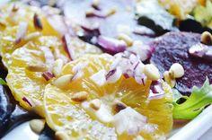 .. chute a vône mojej kuchyne...: Cviklovo-pomarancovy salat