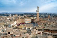 Walking on the roofs by Federico Napoleoni on 500px at Siena