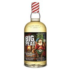 WHISKY ECOSSE ISLAY BLEND BIG PEAT CHRISTMAS EDITION 2016 54.6% 70CL