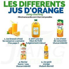 Jus d'orange le matin via - Footwear Fat Burning Home Workout, Diet Recipes, Healthy Recipes, Healthy Food, Jus D'orange, Naturopathy, Food Facts, Workout For Beginners, French Tips