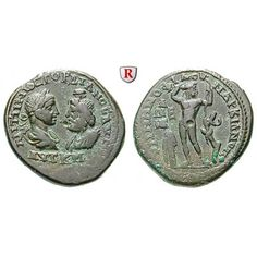 Römische Provinzialprägungen, Thrakien-Donaugebiet, Markianopolis, Gordianus III., Bronze, ss+: Thrakien-Donaugebiet, Markianopolis.… #coins