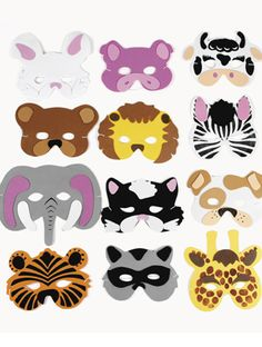 Maskers van Foam