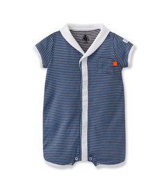 Combicourt bébé garçon en tubique rayé milleraies noir Crown / bleu Wonder. Retrouvez notre gamme de vêtements et sous-vêtements pour bébé, enfant, mode femme et homme.