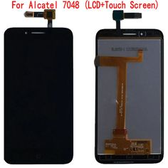 >> Click to Buy << For Alcatel 7048 OT-7048 LCD Display Touch Screen 100% Original Quality Screen Digitizer Assembly Replacement Mobile Phone LCDs #Affiliate