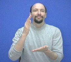 """""""pancake"""" American Sign Language (ASL)"""