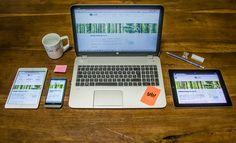 #sitointernet #progettoweb #Errebi #responsivedesign #desk #wood #workspace #yourbiz