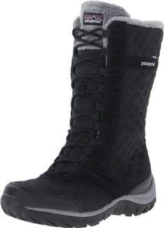 Patagonia Women's Wintertide High Waterproof Snow Boot,Black,9 M US Patagonia http://www.amazon.com/dp/B00AY90110/ref=cm_sw_r_pi_dp_iu0kub00ZWKJ0