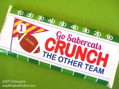 CANDY WRAPPER FOOTBALL