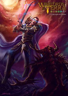 Ímpetu / Warlords of Terra  por Garvel - Personajes | Dibujando.net