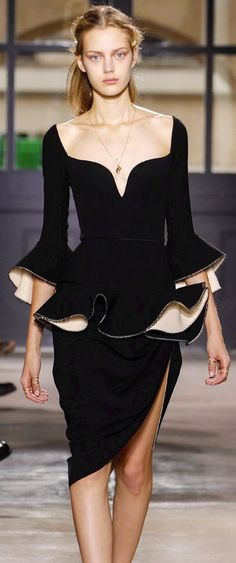 Balenciaga - 2013 lbd little black dresd