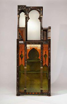 Fantastic cabinet by Carlo Bugatti
