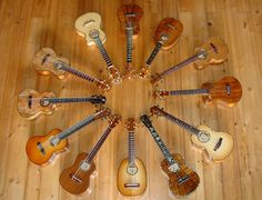 Chuck Moore's Ukuleles from Hawaii!
