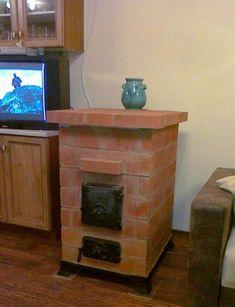 Hordozható Téglakályha Fireplace Heater, Rocket Stoves, Water Heating, Ceramic Studio, Design Case, Ovens, Four, Rockets, Backyard