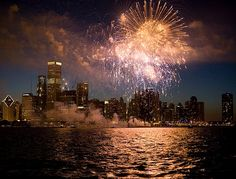 Fireworks on the Seadog Chocago <3 http://entertainmentcruises.com/chicago