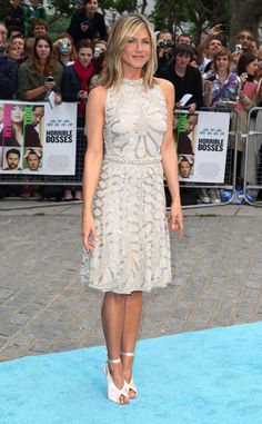 Love this dress. Jennifer Aniston in Valentino couture dress.