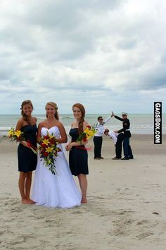 Photobomb You Don't Want on Your Wedding - #funny, #lol, #fun, #humor, #comics, #meme, #gag, #lolpics, #Funnypics,