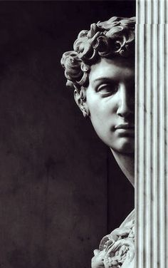 Sculpture of Giuliano de' Medici by Michelangelo. Photo by Aurelio Amendola. Renaissance Kunst, High Renaissance, Renaissance Portraits, Oeuvre D'art, Art History, Sculpting, Art Photography, Creative Photography, Wedding Photography
