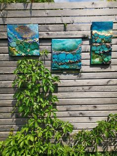Turquoise Necklace, Artworks, Blue, Jewelry, Original Paintings, Jewlery, Bijoux, Schmuck, Jewerly