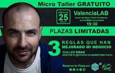 Este miércoles estaré en ValenciaLab hablando de 3 reglas que han hecho que mi negocio Mejore y he preparado algo para que aprendamos todos de todos :) El evento es GRATUITO y puedes apuntarte aquí >>> http://ift.tt/1YQQKes