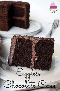 A decadently rich and moist eggless chocolate cake that is not only decadently delicious, but one that can be whipped up super quickly. #moistegglesschocolatecake #egglesschocolatecake #chocolatecakewithouteggs #eggfreechocolatecake #howtomakeegglesschocolatecake #egglesschocolatecakewithvinegar #easyegglesschocolatecake Egg Free Chocolate Cake, Eggless Chocolate Cake, Eggless Desserts, Decadent Chocolate Cake, Eggless Recipes, Eggless Baking, Fun Baking Recipes, Easy Cake Recipes, Dessert Recipes