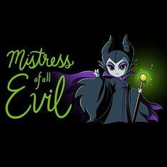 Maleficent Chibi - Mistress of all Evil
