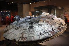 Millenium Falcon High res photo of movie model