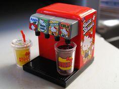 Re-Ment soda machine