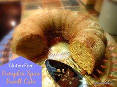 Pumpkin Spice Bundt Cake -- #GlutenFree
