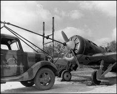 LA GUERRA CIVIL ESPAÑOLA DE DAVID SEYMOUR. Els Monjos. Fuerzas del aire de la República.  1938.