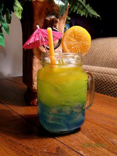 Florida Sunset Tropicle Drink Candle made by LivingTreeCandles
